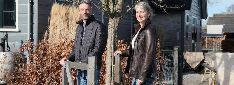 Thelma en Arnoud van Boerenhofstede De Overhorn