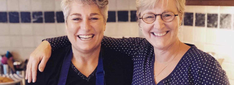 Diana en Carin de gastvrouwen van Boerenhofstede de Overhorn Weesp