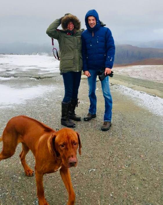 Arnoud en Thelma in Zweden